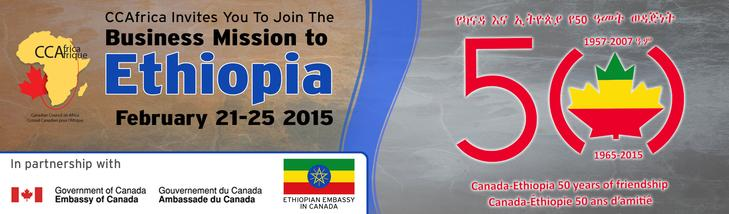 Canadian Council on Africa – Business Mission to Ethiopia