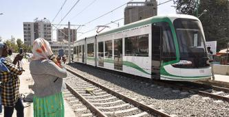 Addis Ababeans Excited about the Inauguration of the Light Railway